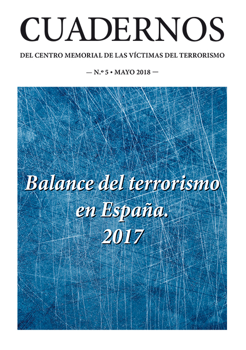 Balance del terrorismo en España 2017