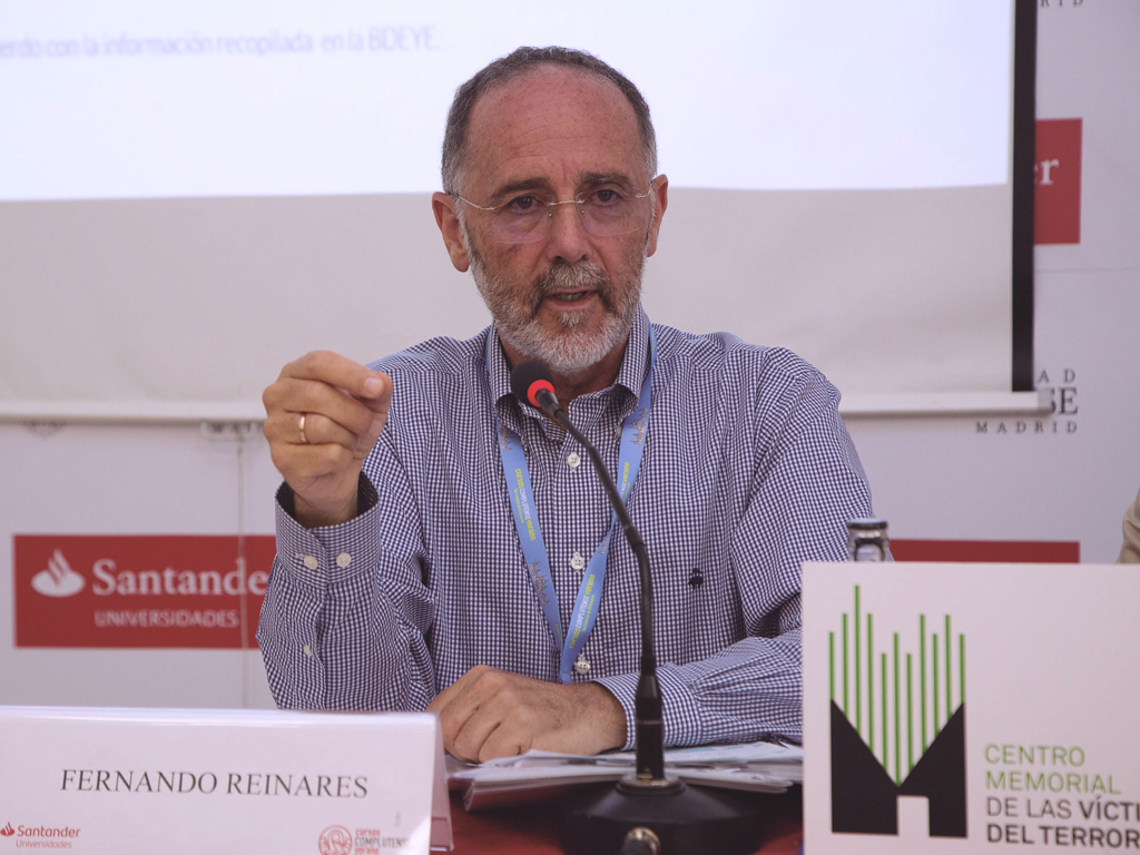 """Fernando Reinares: """"Las víctimas del terrorismo pueden desempeñar un extraordinario papel de prevención de la radicalización"""""""